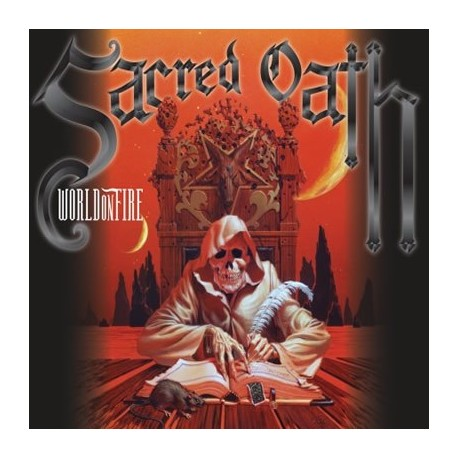 SACRED OATH- WORLD ON FIRE (DIGIPACK)