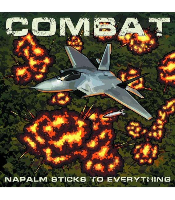 "COMBAT- ""NAPALM STICKS TO EVERYTHING"" 2CD"